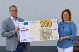 Baustellen Bußgeld - Spendenübergabe KiTa Zwergenburg